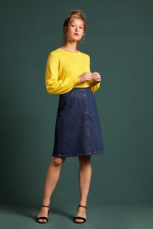 Angie Skirt Organic Denim
