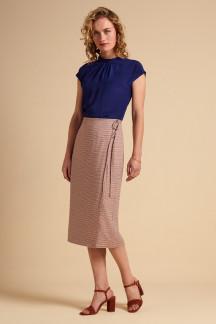 Straight Wrap Skirt Verveine