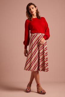 Juno Skirt Lido Stripe