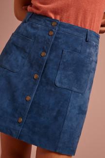 Garbo Mini Skirt Suede