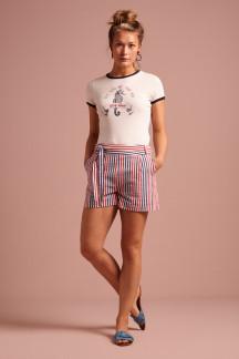 Roisin Shorts Bellaria Stripe