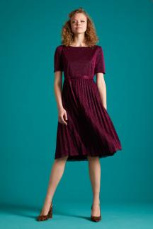 Betty Plisse Dress Glitter Plisoley