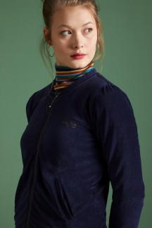Iris Jacket Rib Velours