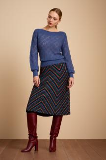 Juno Panel Skirt Crush Stripe