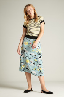Juno Midi Skirt Del Rey
