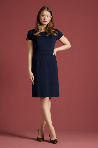 Mona Dress Milano Crepe