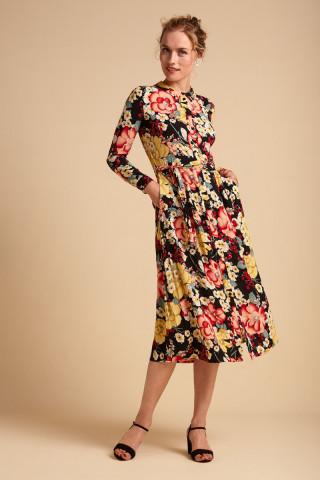 Rosie Midi Dress Carioca
