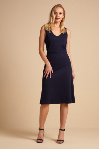 Lucia Dress Milano Crepe