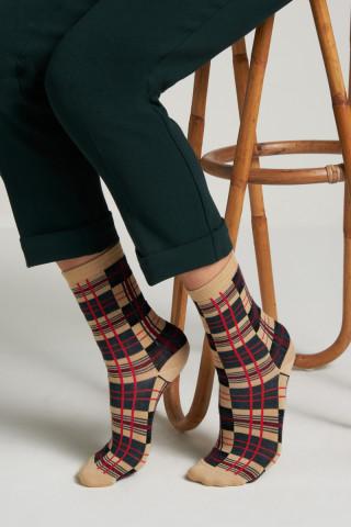 Socks 2-Pack Soleil Check