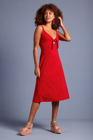 Gisele Dress Little Dots