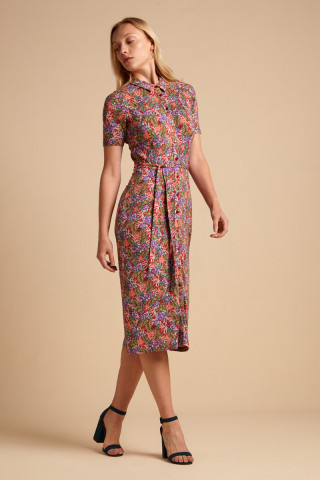 Rosie Dress Slim Fit Bahama