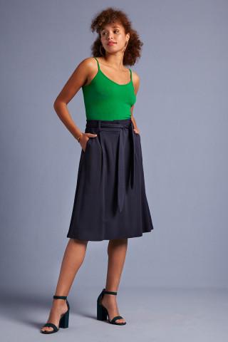 Ava Skirt Milano Crepe