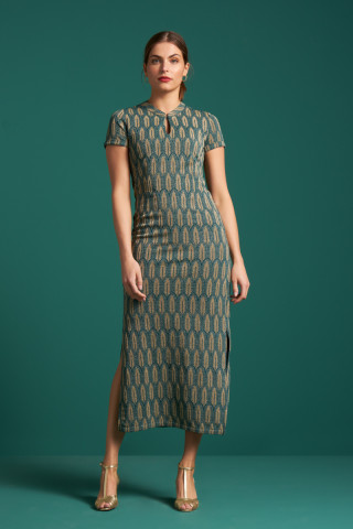 Chinese Maxi Dress Lexington