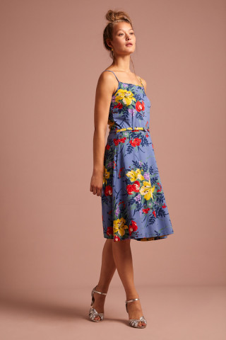 Summer Betty Dress Gladioli