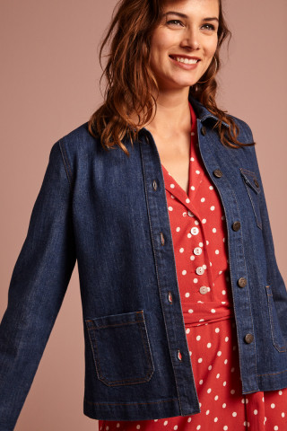Ellen Jacket Organic Denim
