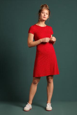 Duffy Mini Dress Little Dots