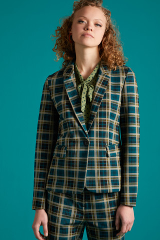 Daisy Blazer Rodeo Check