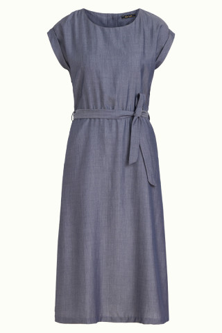 Betty Dress Loose Fit Tencel Denim