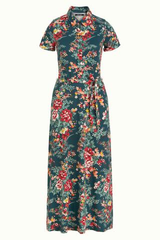Olive Midi Dress Makura