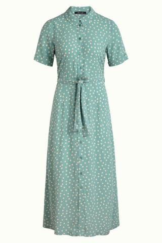 Rosie Midi Dress Domino Dot