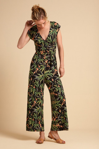 Lot Cropped Jumpsuit Tahiti