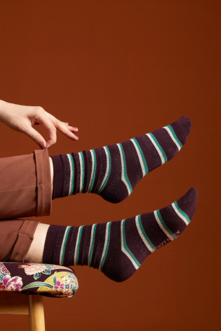 Socks 2-Pack Dashi Stripe