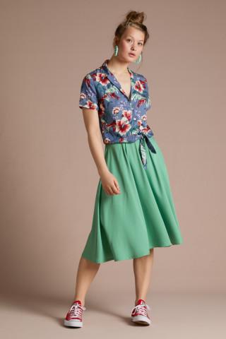 Circle Skirt Uni Woven