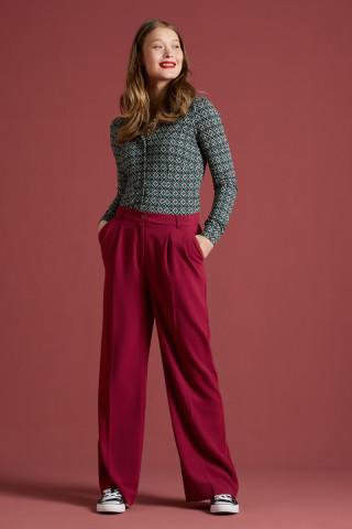 Fintan Trousers Woven Crepe