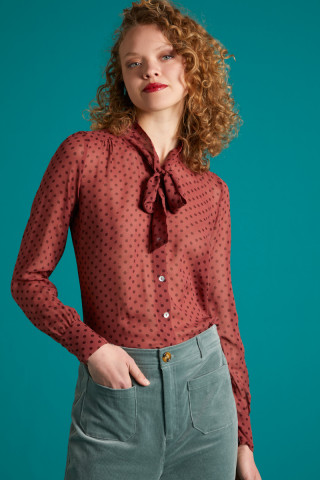 Delia Blouse Pretty Woman