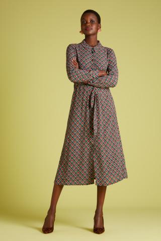 Olive Midi Dress Palmer