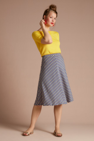 Juno Skirt Gelati Stripe