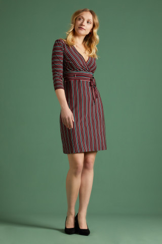 Cecil Dress Nippon Stripe