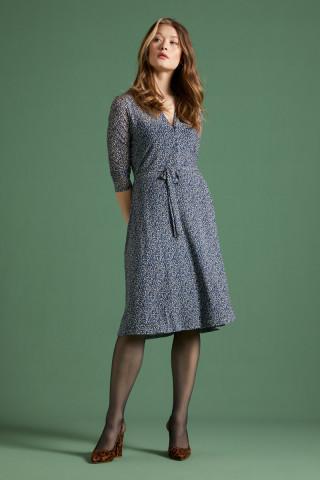 Emmy Dress Midi Moonlight