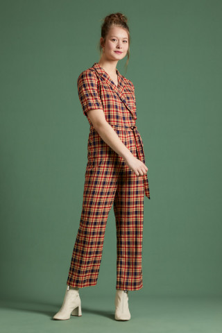 Doris Jumpsuit Lyon Check