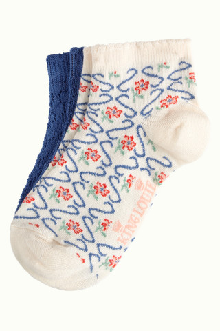 Socks Short 2-Pack Twister