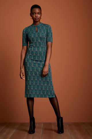 Chinese Midi Dress Cleopatra