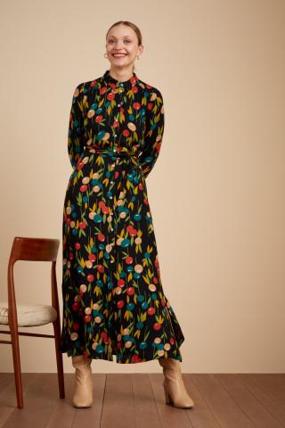 Olive Dress Maxi Rosy Lee