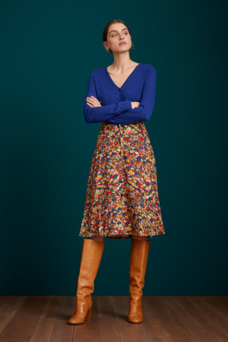 Juno Button Skirt Sweeney