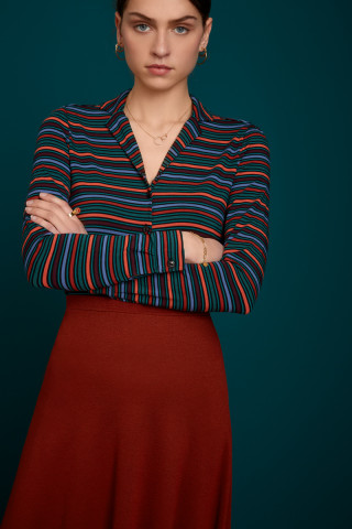 Patty Blouse Crush Stripe