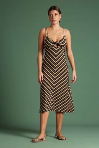 Gisele Dress Gonzalez Stripe