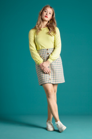 Gianna Skirt Maverick Check