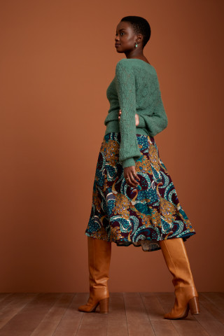Juno Midi Skirt Perot