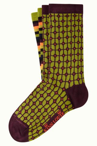 Socks 2-Pack Fudge