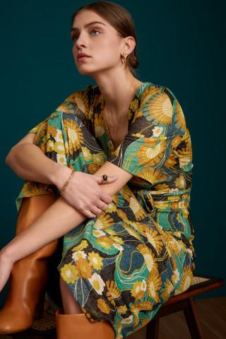 Shiloh Maxi Dress Scone