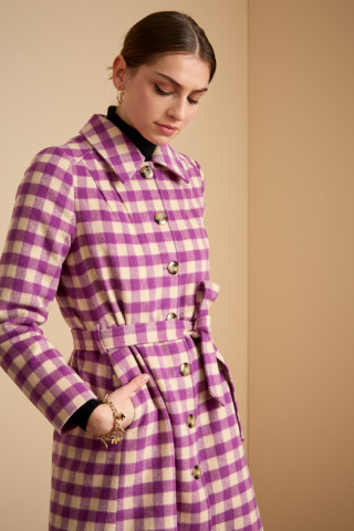 Lola Coat Daiquiri Check