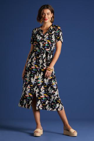 Olive Dress Big Sur
