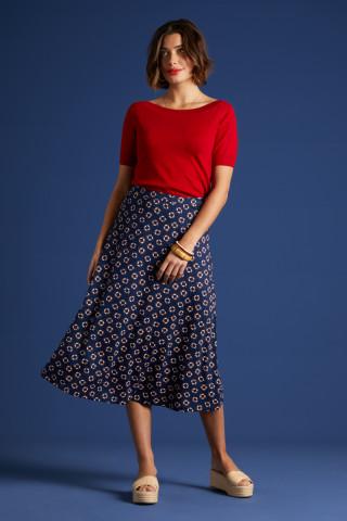Juno Midi Skirt Capitan