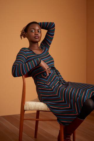 Carice Dress Crush Stripe
