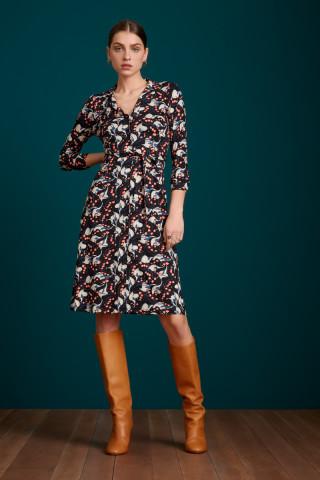 Lola Button Dress Calla