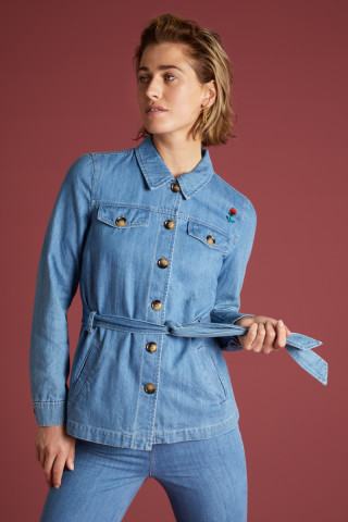 Lia Jacket Canyon Denim